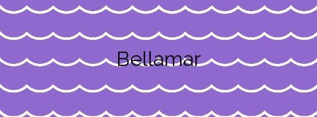 Información de la Playa Bellamar en Premià de Mar