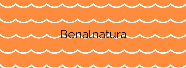 Información de la Playa Benalnatura en Benalmádena