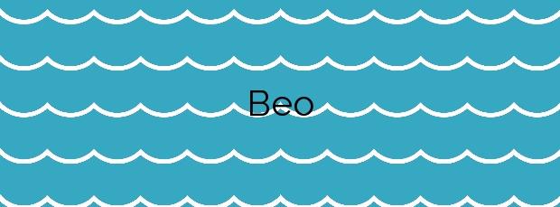 Información de la Playa Beo en Malpica de Bergantiños
