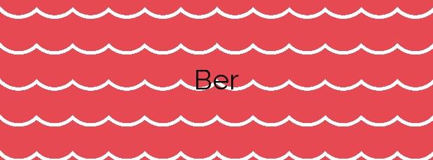 Información de la Playa Ber en Pontedeume