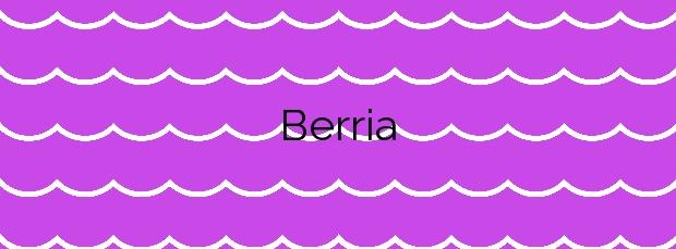 Información de la Playa Berria en Santoña