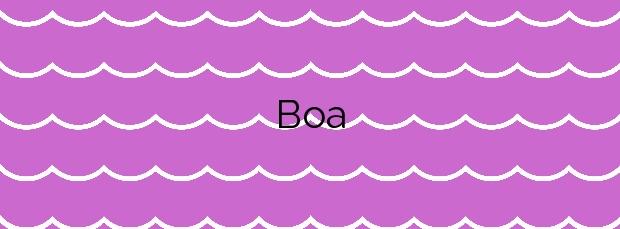 Información de la Playa Boa en Noia