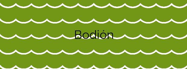 Información de la Playa Bodión en Boiro