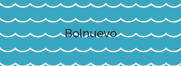 Información de la Playa Bolnuevo en Mazarrón