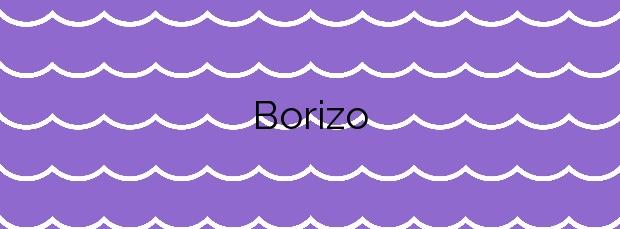 Información de la Playa Borizo  en Llanes