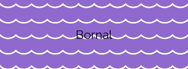 Información de la Playa Bornal en Vilanova de Arousa
