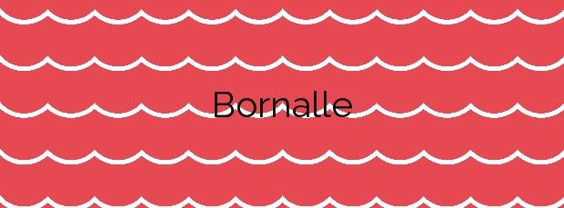 Información de la Playa Bornalle en Muros