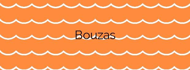 Información de la Playa Bouzas en Vilagarcía de Arousa