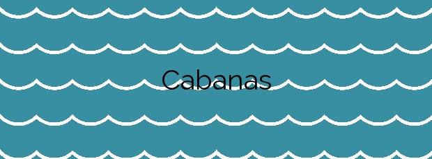 Información de la Playa Cabanas en Muros