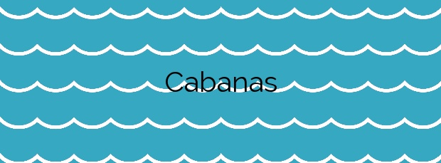 Información de la Playa Cabanas en Redondela
