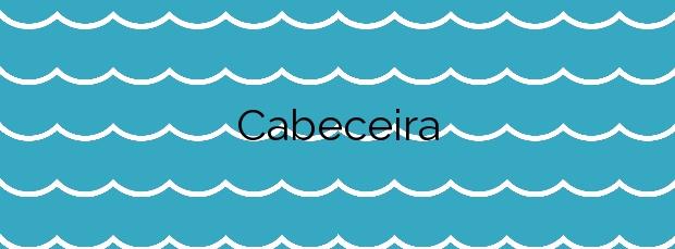 Información de la Playa Cabeceira en Poio