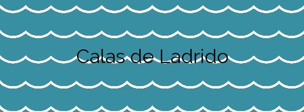 Información de la Playa Calas de Ladrido en Ortigueira