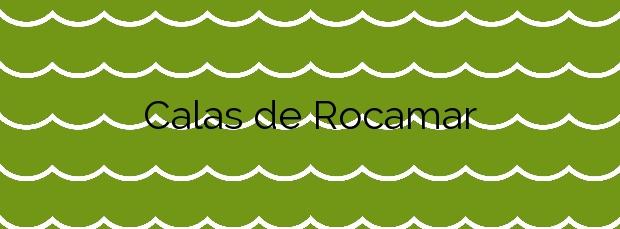 Información de la Playa Calas de Rocamar en Pilar de la Horadada