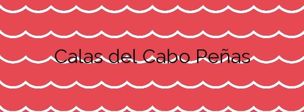 Información de la Playa Calas del Cabo Peñas en Orihuela
