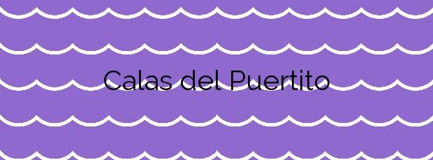 Información de la Playa Calas del Puertito en La Oliva