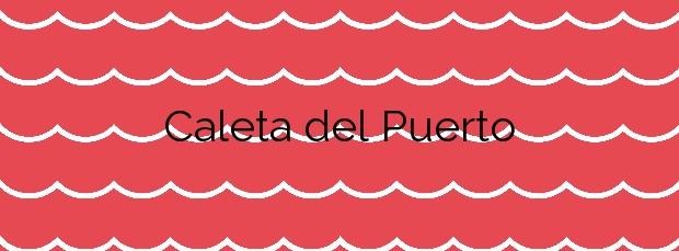 Información de la Playa Caleta del Puerto en Teguise