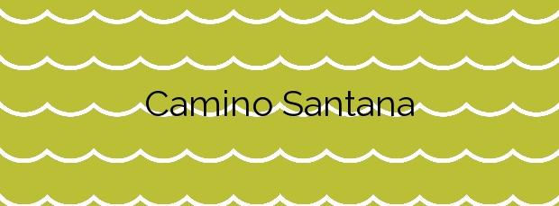 Información de la Playa Camino Santana en Isla Cristina