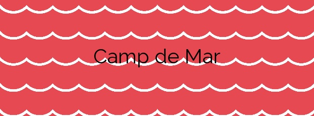 Información de la Playa Camp de Mar en Andratx