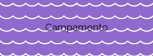 Información de la Playa Campamento en San Roque