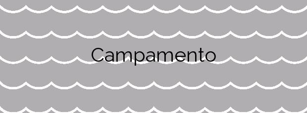 Información de la Playa Campamento en Vilanova de Arousa