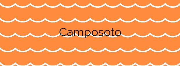 Información de la Playa Camposoto en San Fernando