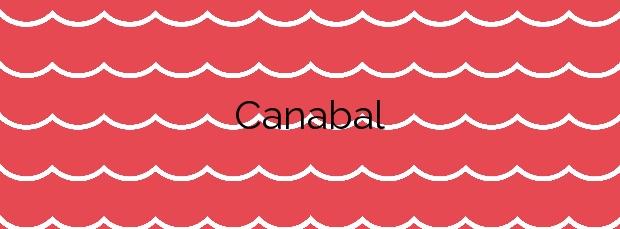 Información de la Playa Canabal en Oleiros