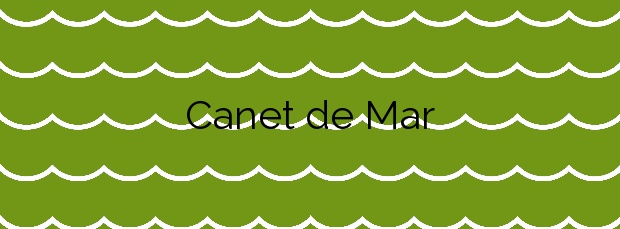 Información de la Playa Canet de Mar en Canet de Mar