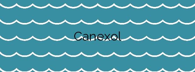 Información de la Playa Canexol en Bueu