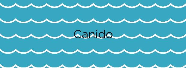 Información de la Playa Canido en Malpica de Bergantiños
