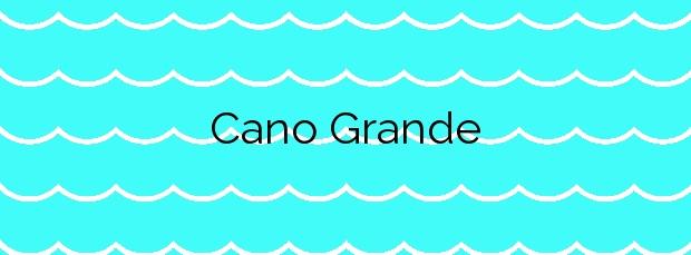 Información de la Playa Cano Grande en Valdoviño