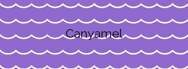 Información de la Playa Canyamel en Capdepera