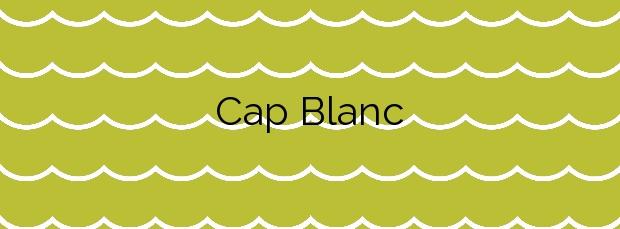 Información de la Playa Cap Blanc en Cullera