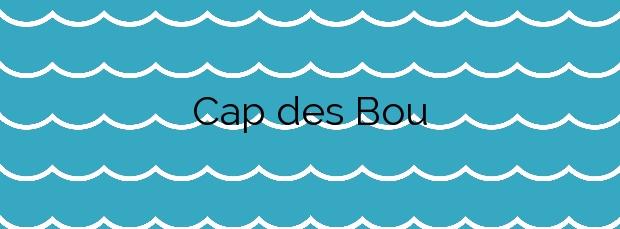 Información de la Playa Cap des Bou en Alcúdia