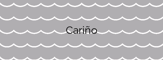 Información de la Playa Cariño en Ferrol
