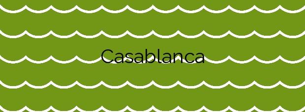 Información de la Playa Casablanca en Marbella
