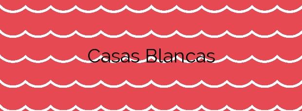 Información de la Playa Casas Blancas en Santa Cruz de Tenerife