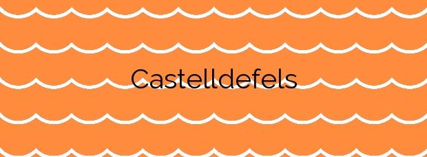 Información de la Playa Castelldefels en Castelldefels