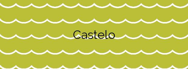 Información de la Playa Castelo en El Franco