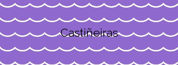 Información de la Playa Castiñeiras en Cangas
