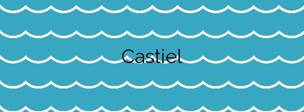 Información de la Playa Castiel en Valdés