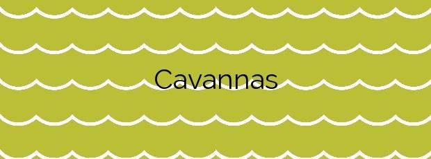 Información de la Playa Cavannas en Cartagena