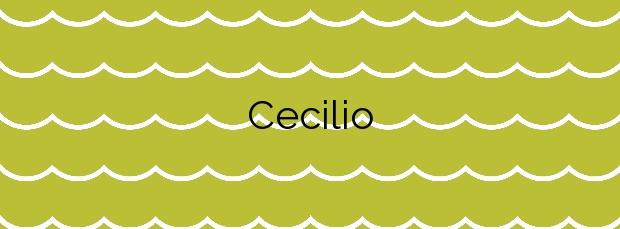 Información de la Playa Cecilio en Valdoviño