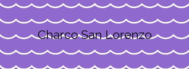 Información de la Playa Charco San Lorenzo en Moya