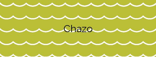 Información de la Playa Chazo en Boiro