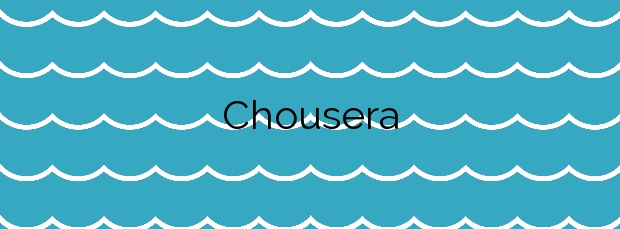 Información de la Playa Chousera en Valdés