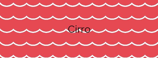Información de la Playa Cirro en Sada