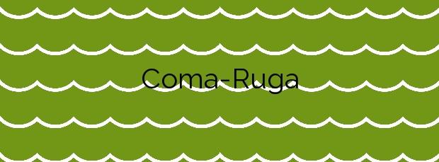 Información de la Playa Coma-Ruga en El Vendrell