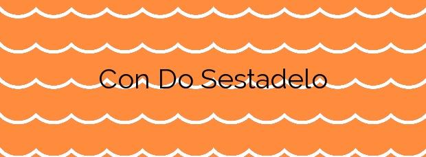 Información de la Playa Con Do Sestadelo en Cangas
