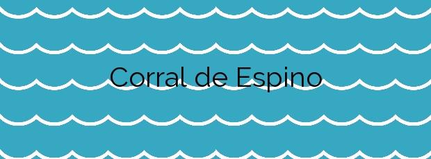 Información de la Playa Corral de Espino en San Bartolomé de Tirajana