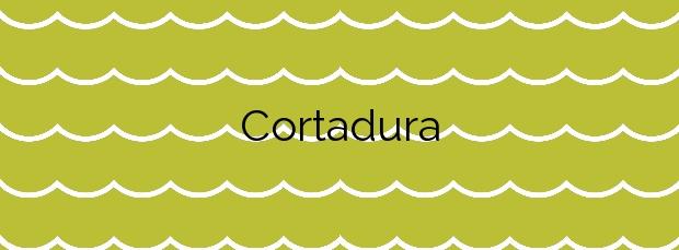 Información de la Playa Cortadura en Cádiz